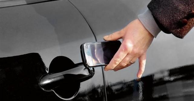 Открытие Fiat с помощью телефона NFC